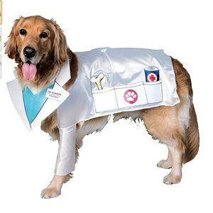Pet Costume Doctor Barker Veterinarian Dog cat nwo